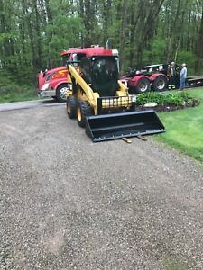 2013 Caterpillar 272d Skid Steer Loader With Bucket Forks And Counterweights