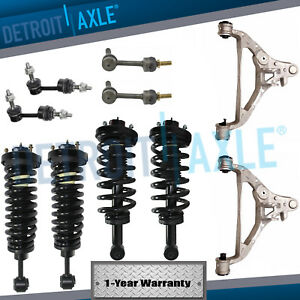 10pc Front Rear Strut Lower Control Arm Links 2003 2004 2005 Ford Expedition