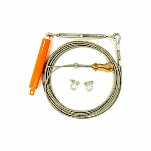 New Temporary Horizontal Lifeline Cable Assembly