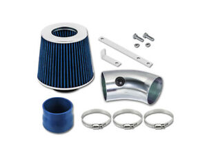 Gsp Blue Short Ram Air Intake Kit Filter 91 93 Oldsmobile Cutlass Supreme