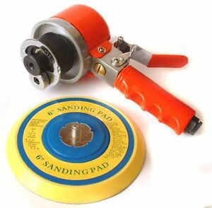 Professional Air D A Sander With 6 Rubber Pad
