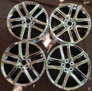 Lexus Ct200h Stock Oem Chrome Alloy Wheels Rims 17x7 2014 2017
