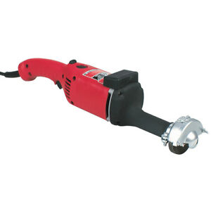 Milwaukee 5211 120 Ac dc 3 inch Diameter Straight Grinder With Grinding Wheel