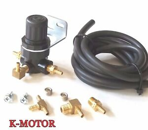 Neo Chrome Universal Adjustable Turbo 30psi Manual Boost Bypass Controller Kit