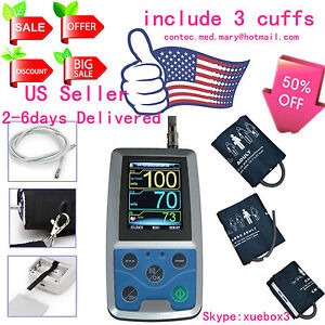 Us Sell Contec Ambulatory Blood Pressure Monitor software 24h Nibp Holter Abpm50