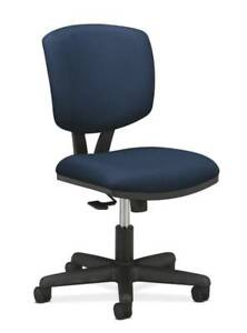 Hon Volt Task Chair Synchro tilt Tension Lock Navy Fabric