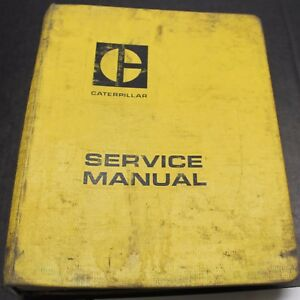 Caterpillar Motor Grader 12g 14g 140g Service Manual