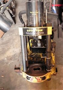 Goodyear Perma crimp Pc150 Hydraulic Hose And Fittings Crimper Used Pc150 2 019