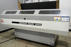 2008 Haas Servo Bar 300 Bar Feed Loader 3 Capacity X 5ft Length