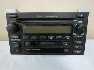 00 01 02 03 4runner Tundra Camry Solara Sienna Am Fm Tape Cd Player Receiver Oem