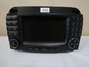 04 05 06 Mercedes W220 S class Radio Receiver Am Fm Cd Gps Navigation Screen Oem
