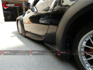 2003 2008 350z Z33 Vs3 Style Wide Body Fender Flares Front Rear Body Kit