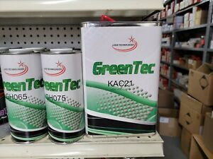 Gentec Clearcoat Kac21 Clearcoat Kit Gallon 4 1 Mix Meduim Water White Clear