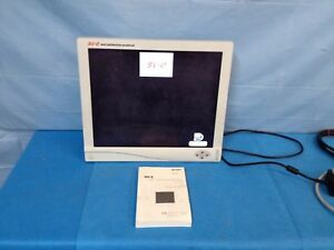 Stryker 19 Sv 2 High Definition Flat Screen Monitor 240 030 920 With Power Cord