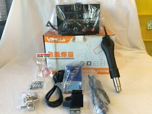 Read 853d 3in1 Dc Power Supply Smd Soldering Rework Station Hot Air Gun