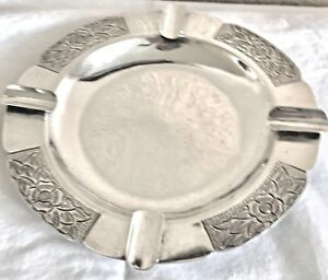 Vintage Metropol Mexican Sterling Silver Ashtray