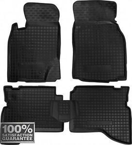 Rubber Carmats For Mitsubishi Pajero Sport 1998 2008 All Weather Floor Mats
