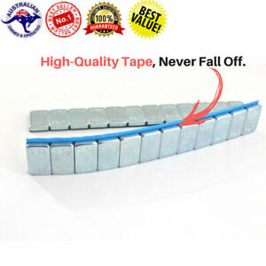 8x Tire Wheel Balance Weights Adhesive Strips For Car Motorbike Rc Boat 60g