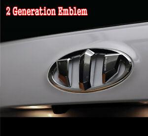 2g Brenthon Front Grill Rear Trunk Emblem Badge For 2012 2015 Hyundai Veloster