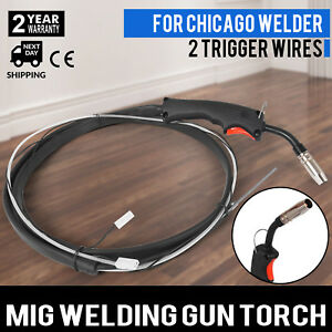 Mig Welding Complete Gun 10ft Torch Stinger Replacement For Chicago 94164 97503