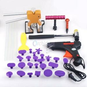 Car Paintless Hail Repair Pdr Dent Lifter Puller Ding Removal Tools Kits Usa New
