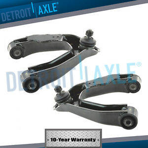2000 2004 For Nissan Frontier Xterra Front Upper Control Arm Set