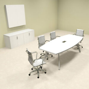 Modern Boat Shaped 8 Feet Conference Table of con cv1