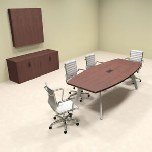 Modern Boat Shaped 8 Feet Conference Table of con cv4