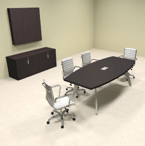 Modern Boat Shaped 8 Feet Conference Table of con cv6