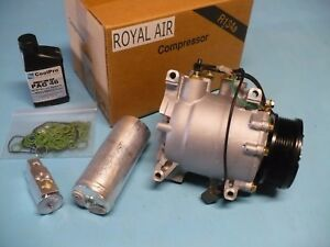 Royal Air A C Ac Compressor Kit For 2002 2005 Civic 2 0l Only