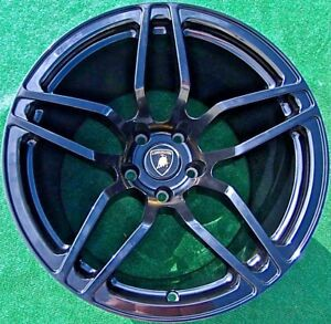 Set 4 Genuine Oem Factory Lamborghini Lp670 4 Murcielago Wheels Lp670sv Lp670 Sv