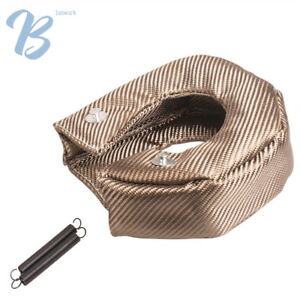 New Titanium Turbo Blanket Heat Shield Barrier Turbo Charger Cover T4 Gt40 Gt42
