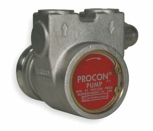 Procon 113a100f31ba 250 3 8 Stainless Steel Rotary Vane Pump 112 Max Flow