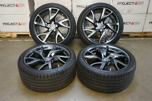 19 Oem Factory Infiniti Q50 Q50s G37 Forged Rays Wheels Dunlop Funflat Tires