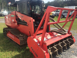 2013 Fecon Ftx 100lgp Forestry Land Clearing mulcher Tractor Air Conditioned