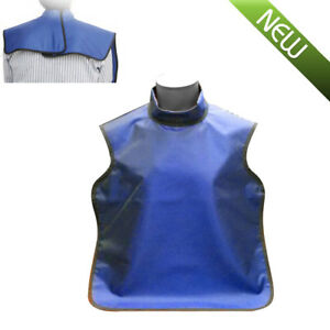 Dental Lead X ray Apron Protective Shield Rubber 0 5mmpb High Collar Protection