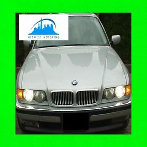 1995 2001 Bmw E38 7 Series Chrome Trim For Grill Grille 5yr Warranty