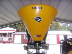 New Tar River Ssp 400 3 Pt Poly Spreader seeder can Ship Fast And Cheap