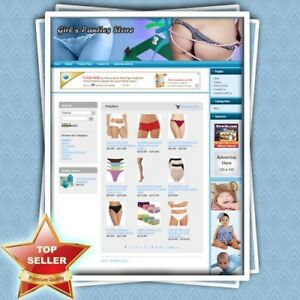 Women s Panties Store work at home Business Website Faster Return On Investment