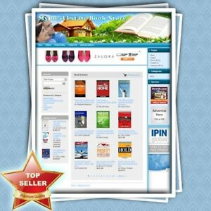Real Estate Book Store Highly Profitable Home based Affiliate Website For Sale