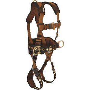 Falltech Comfortech Belted Construction Safety Harness 2xl Large 70812x