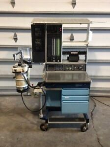 Ohmeda Modulus Ii Anesthesia Gas Machine 1 Medical Healthcare Surgical