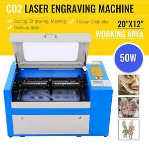40w Usb Laser Engraving Cutting Machine Engraver Cutter W Cooling Fan New