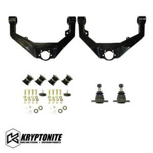 Kryptonite Upper Control Arm Kit For 2001 2010 Chevy Gmc 2500hd 3500hd Pickup