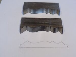 Corrugated Moulder shaper Knives Moulding Profile