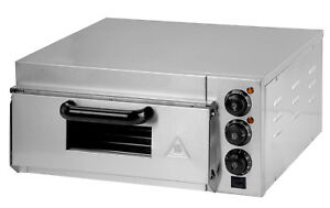 Shivakitchen Electric Pizza Oven Commercial Single Deck 220 240 V 2000 W
