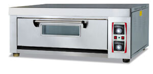 Baking Oven Electric One Deck Digital Display Commercial
