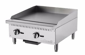 Migali C g24 24 Gas Griddle