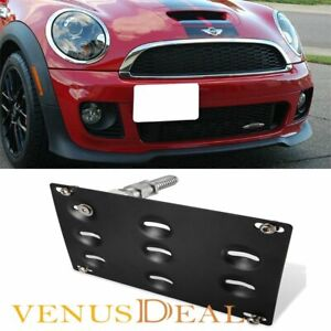 Front Bumper Tow Hook License Plate Bracket For Mini Cooper S 01 13 R50 R56 R57