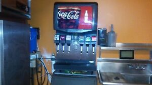 Coca Cola 6 Head Fountain Drink Dispenser This Unit Is like New